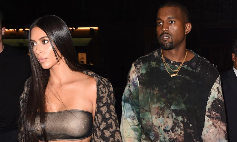 ¿Qué les pasa a Kanye West y Kim Kardashian?