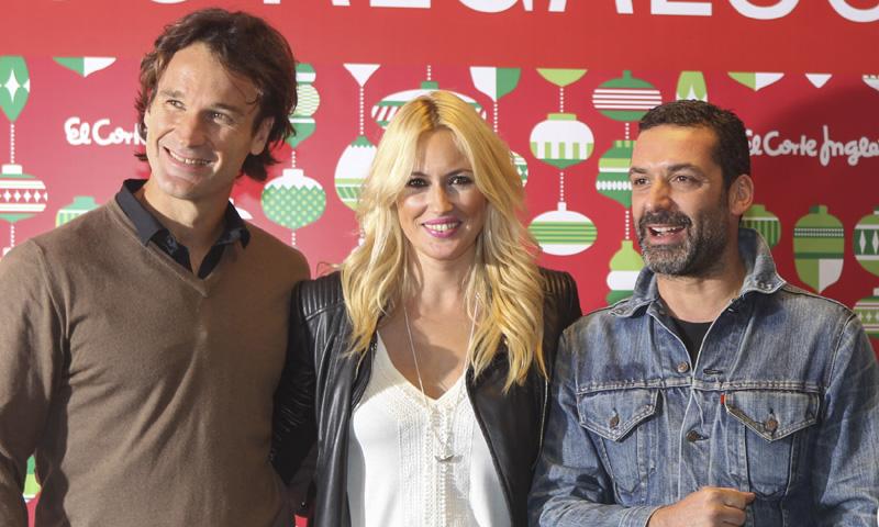 Carolina Cerezuela y Carlos Moyá ponen fin a los comentarios posando junto a Jaime Anglada