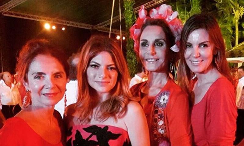 Mar Flores y Naty Abascal, en la boda de la hija del décimo hombre más rico de la República Dominicana
