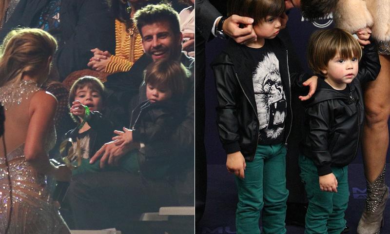 Milan y Sasha eclipsan a Shakira en LOS40 Music Awards