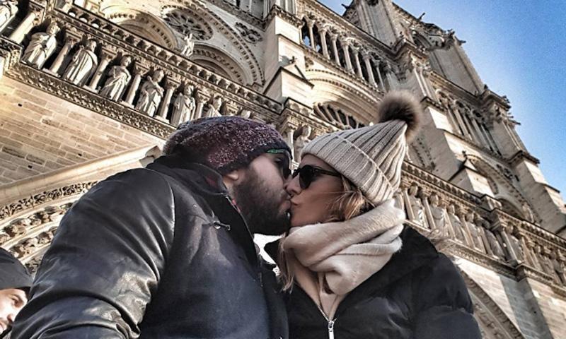 La romántica escapada de Kiko Rivera e Irene Rosales a la 'ciudad del amor'