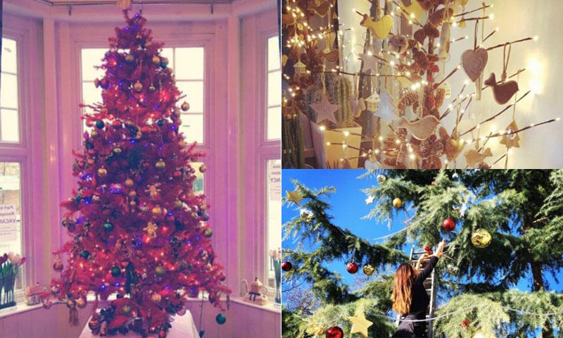 ¿Necesitas ideas para decorar tu árbol de Navidad? Repasamos los más curiosos de las celebrities