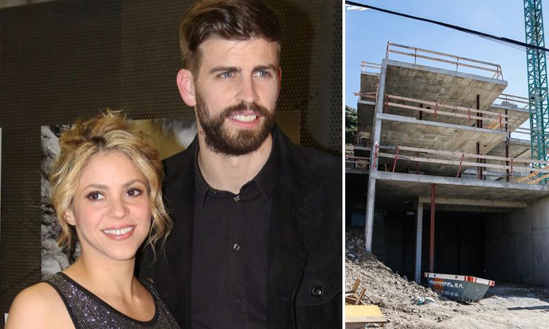 Shakira y Gerard Piqué se construyen otra casa en Barcelona