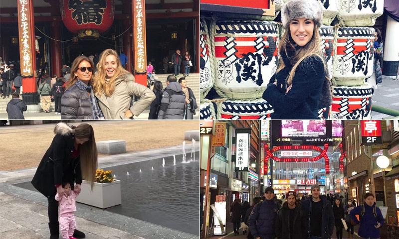 Novias, madres, hermanos, hijos, amigos… el 'otro' Real Madrid toma Tokio