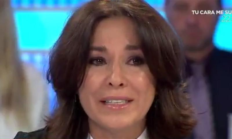 Las lágrimas de Isabel Gemio ante la impotencia por el caso Nadia
