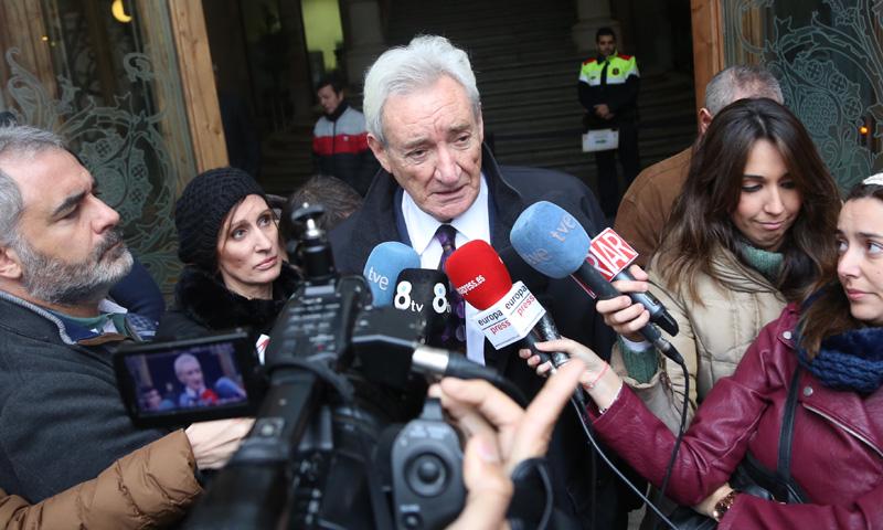 Luis del Olmo, cara a cara con el amigo acusado de estafarle 15 millones de euros