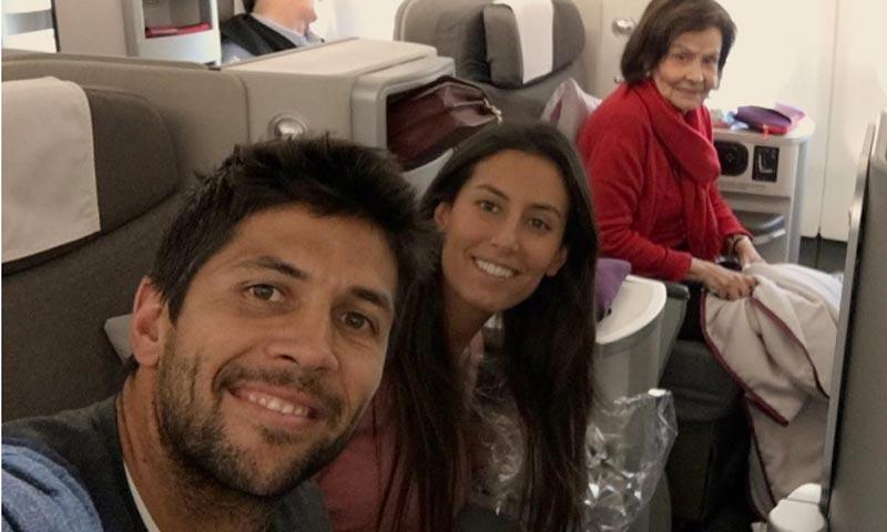 Ana Boyer y Fernando Verdasco, rumbo a Miami donde pasarán la Navidad