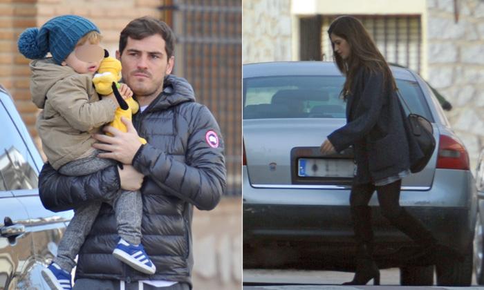 Iker Casillas y Sara Carbonero vuelven a casa por Navidad