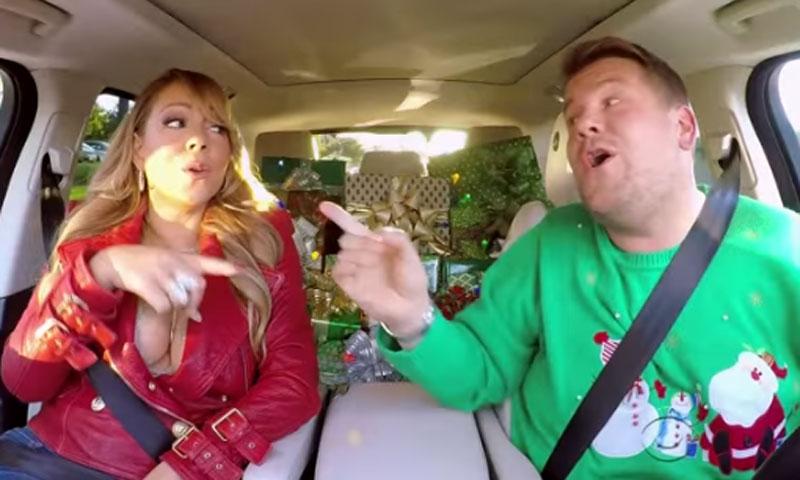Mariah Carey, Adele, Chris Martin y Selena Gómez, estrellas del divertido karaoke navideño