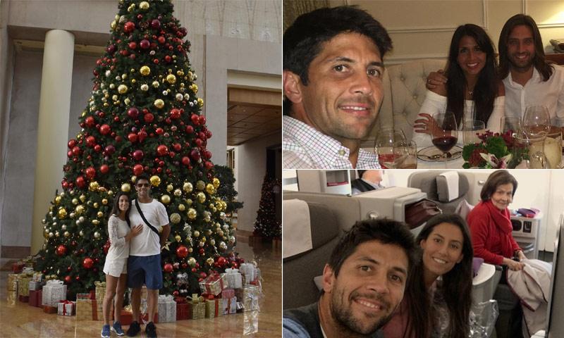 Ana Boyer y Fernando Verdasco, calurosas Navidades en familia