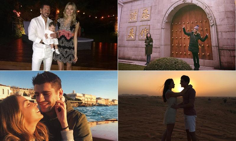 FOTOGALERÍA: Desde Dubái con Melissa Jiménez hasta Argentina con Carla Pereyra... ¡Distintas formas de celebrar las fiestas!
