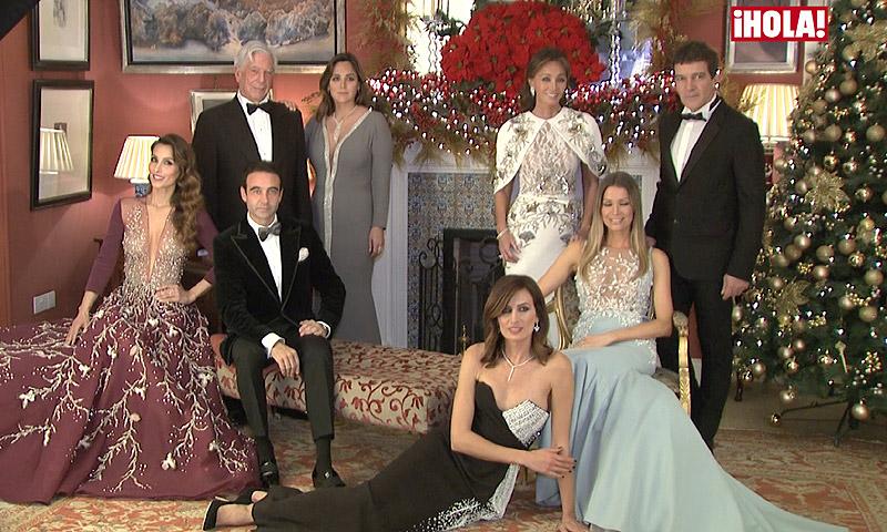 En vídeo: Isabel Preysler, Antonio Banderas, Paloma Cuevas, Nieves Álvarez... ¿Qué le piden al 2017?