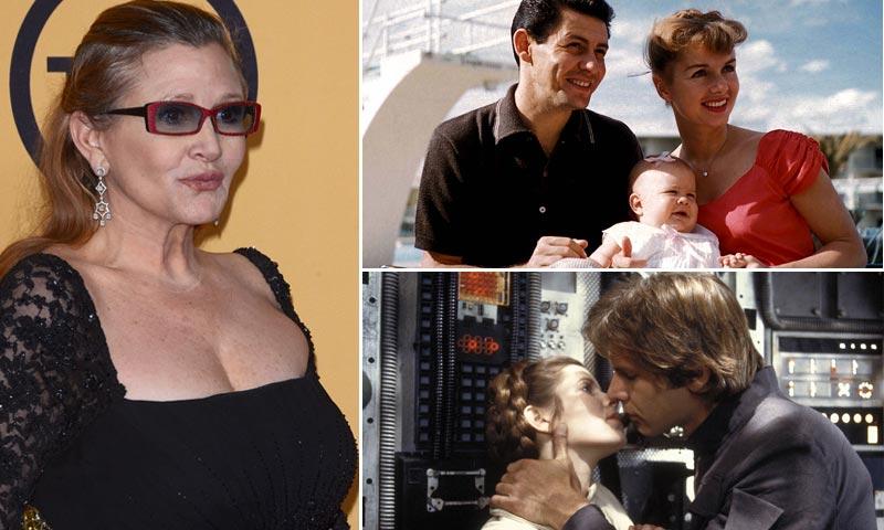 Su familia, sus amores, su humor más irreverente... Todo lo que no sabías de Carrie Fisher