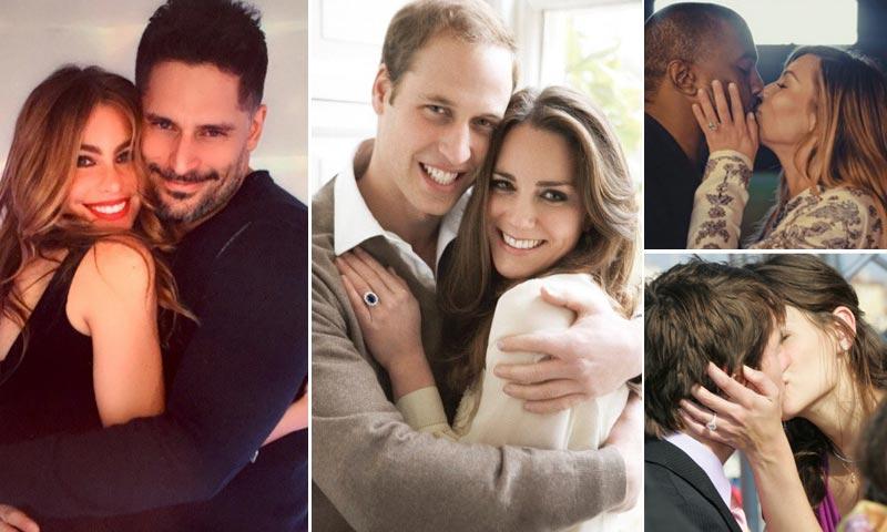 Las maneras más originales de pedir matrimonio de las 'celebrities'