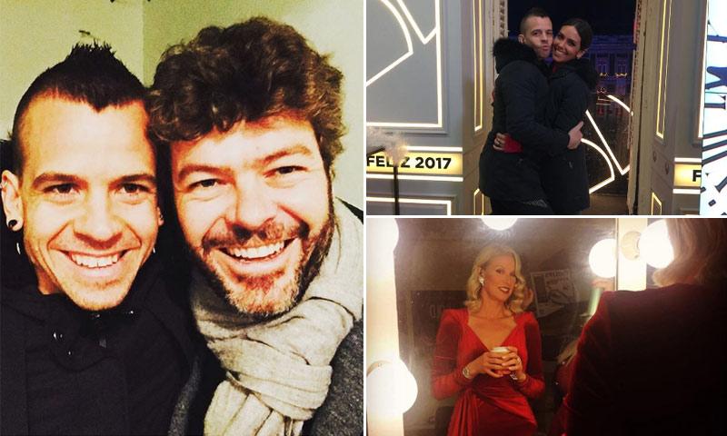 David Muñoz y Pablo Heras-Casado, ¿qué hacían juntos mientras sus chicas daban las campanadas?