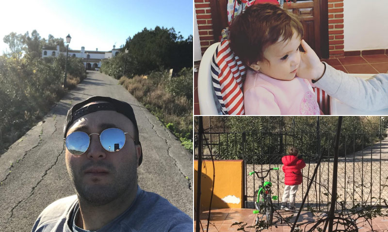 Kiko Rivera comienza el año en familia y en Cantora