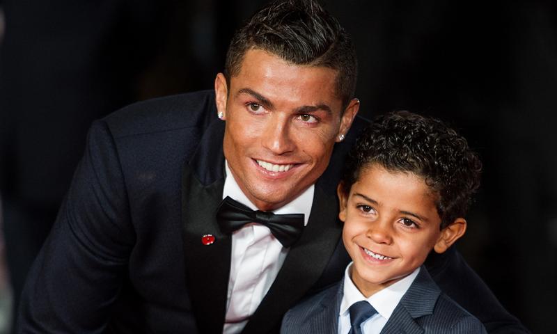 Cristiano Ronaldo nos descubre cómo es su hijo