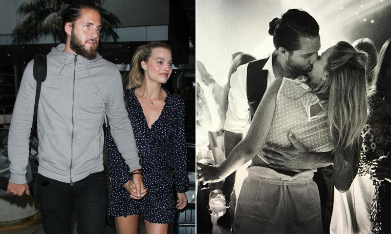 Primeras imágenes de Margot Robbie tras su boda secreta en Australia
