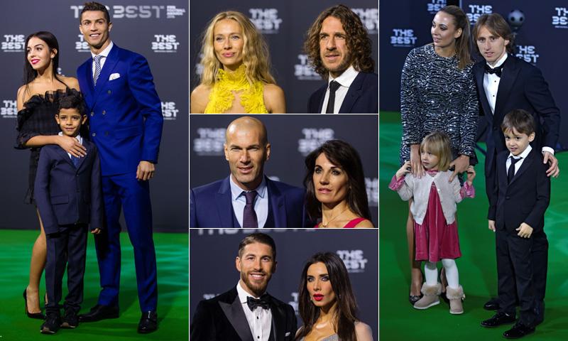 El mundo del fútbol convierte los premios The Best en un asunto de familia