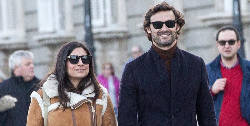 Iván Sánchez y Ana Brenda dan un toque 'typical spanish' a su relación