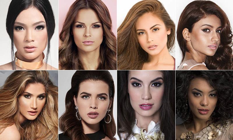 ¿Quieres conocer a las aspirantes a Miss Universo?
