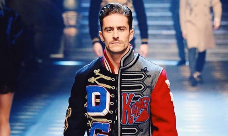 Pelayo Díaz se convierte, por un día, en 'príncipe' de Dolce & Gabbana