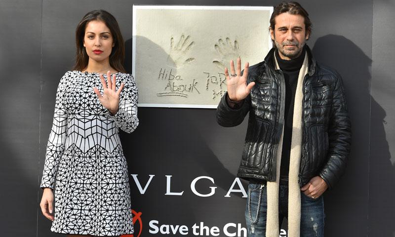 Hiba Abouk y Jordi Mollá luchan contra la exclusión infantil