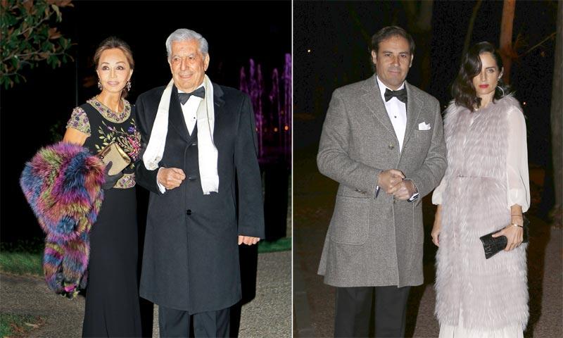 Isabel Preysler y Mario Vargas Llosa, en la gran fiesta de cumpleaños del embajador de Estados Unidos