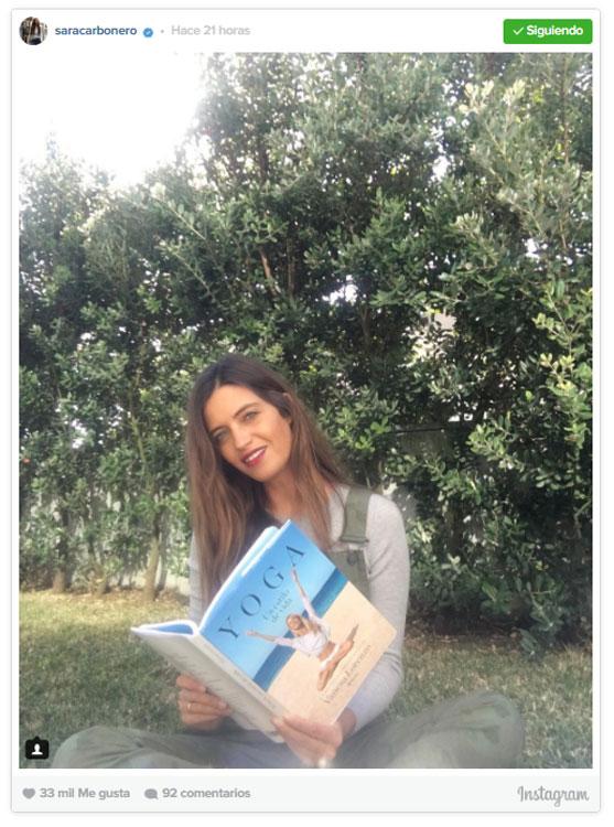 Sara carbonero se une al mundo yogui gracias a vanesa for Casillas para jardin