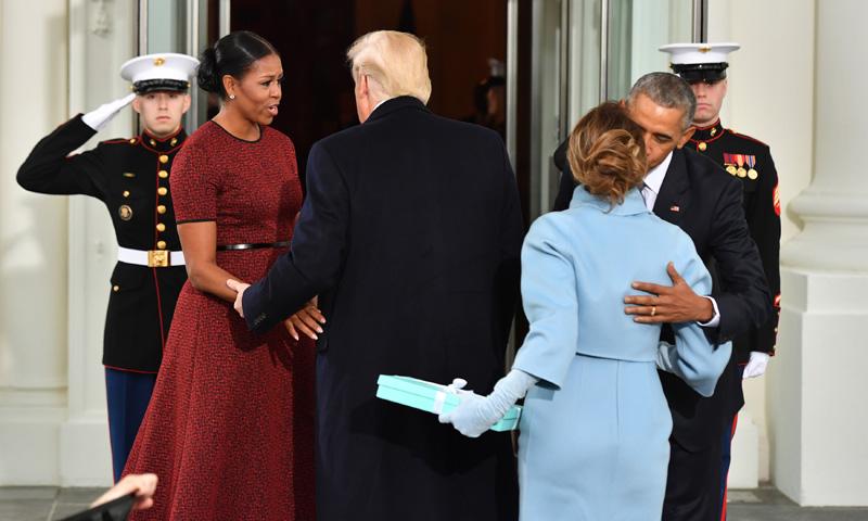 FOTO A FOTO: Recordamos cómo llegaron a la Casa Blanca otras familias presidenciales