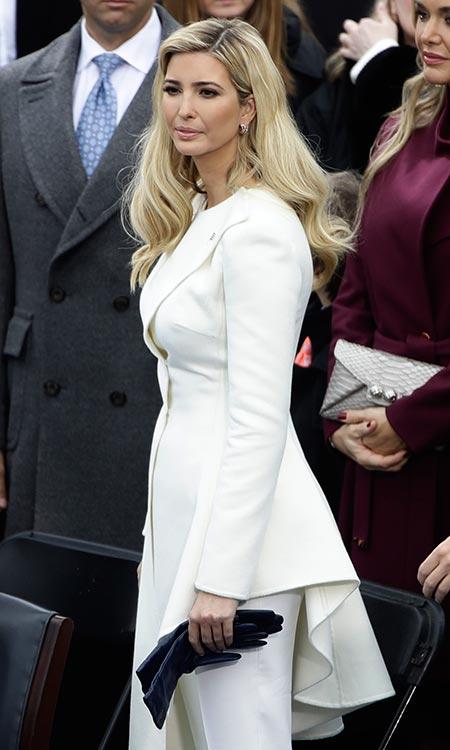 Vestido blanco de melania trump