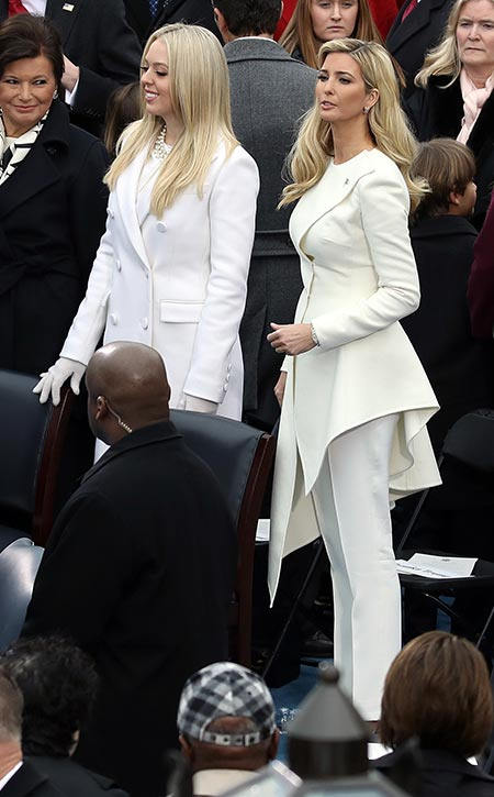 Ivanka y Tiffany Trump