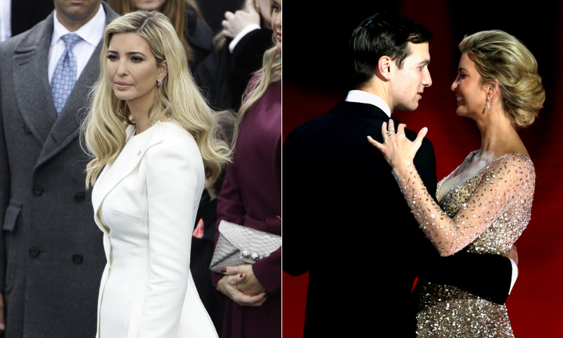 Ivanka, del 'total look' blanco a princesa Trump