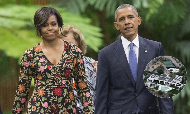 Los Obama inician su nueva vida con unas vacaciones en casa de James Costos, embajador de Estados Unidos en España