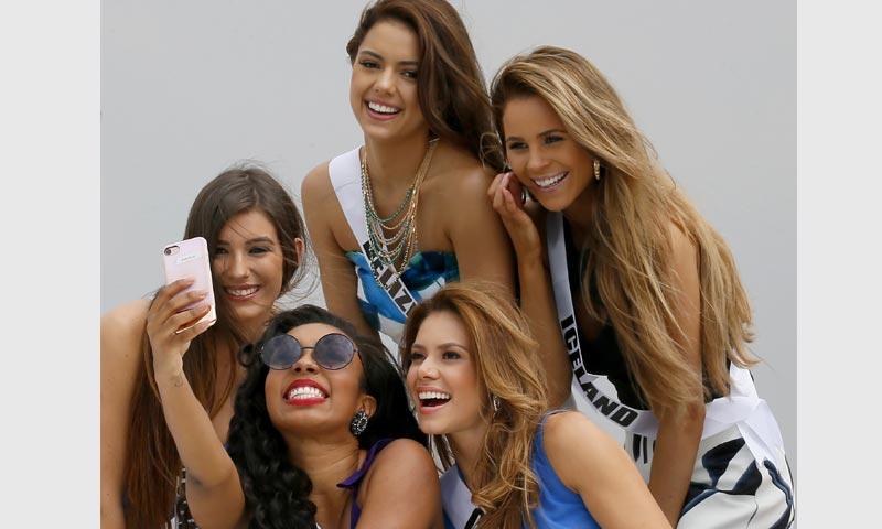 Las aspirantes a Miss Universo, rumbo a la gran final