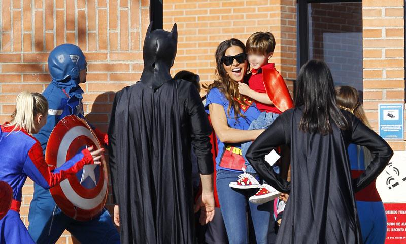 El cumpleaños de todo un 'superhéroe': Enzo, el hijo de Guti y Romina Belluscio