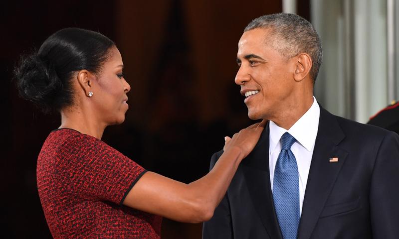Los Obama, un adiós lleno de amor