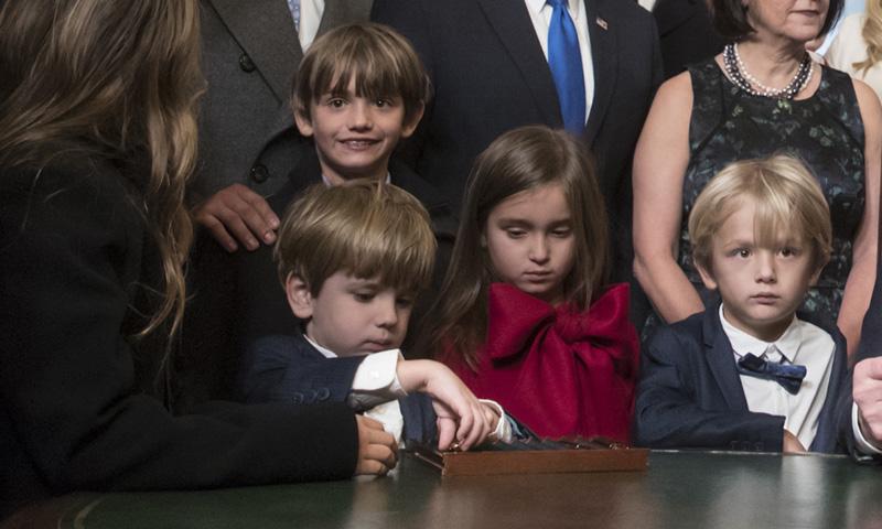 ¿Aún no conoces a los ocho nietos de Donald Trump?