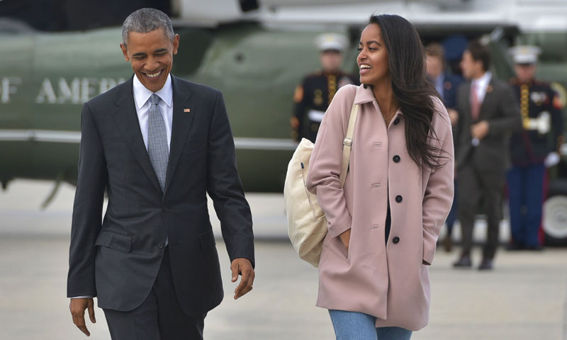 Malia Obama podría dar el salto a Hollywood