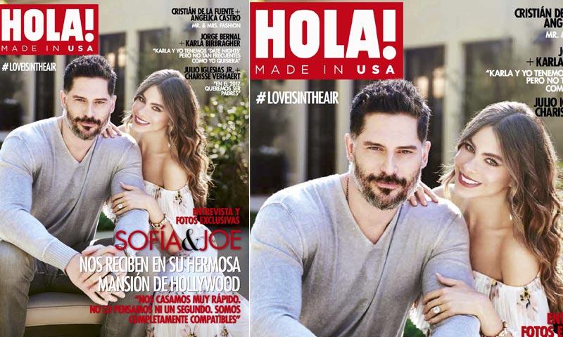 Exclusiva en HOLA! USA, Sofía Vergara y Joe Manganiello nos abren las puertas de su nueva casa y de su corazón