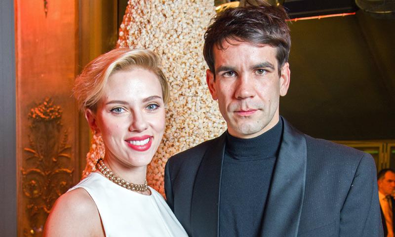 Scarlett Johansson y Romain Dauriac posan juntos en Nueva York horas después de conocerse su ruptura