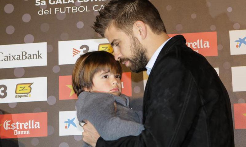 Shakira y Piqué, preocupados por la salud de su hijo Milan