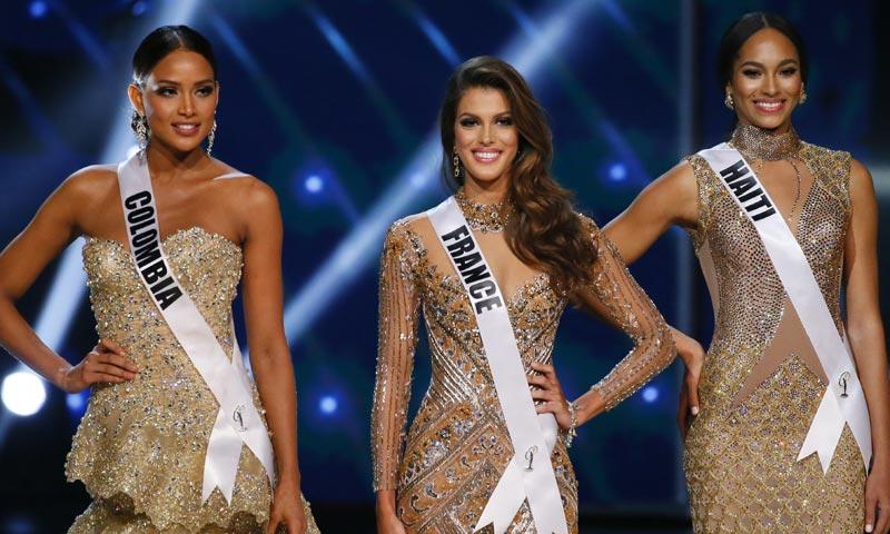 Y la ganadora de Miss Universo es...