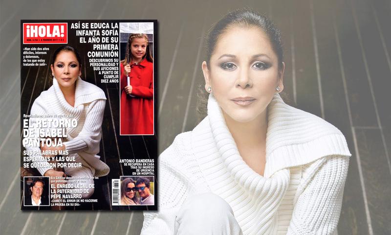 En ¡HOLA!, revelaciones sobre la nueva vida de Isabel Pantoja