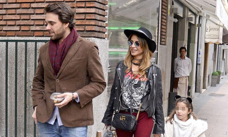 Javier Ungría, uno más en la familia de su novia Elena Tablada