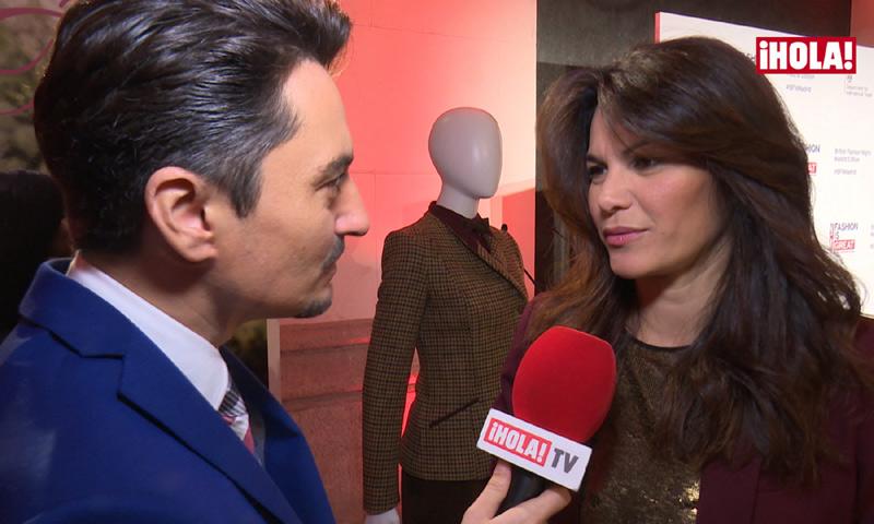 Fabiola Martínez nos cuenta cómo participó su hijo Carlos en el disco de Bertín