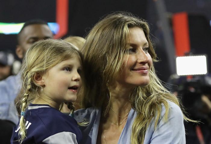 Gisele Bündchen y su hija