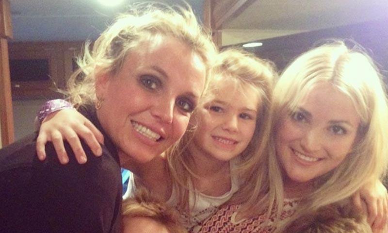 Preocupación por el estado de la sobrina de Britney Spears, Maddie de ocho años, tras sufrir un grave accidente