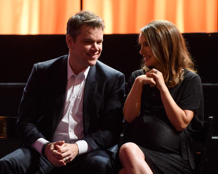 Matt Damon y Natalie Portman