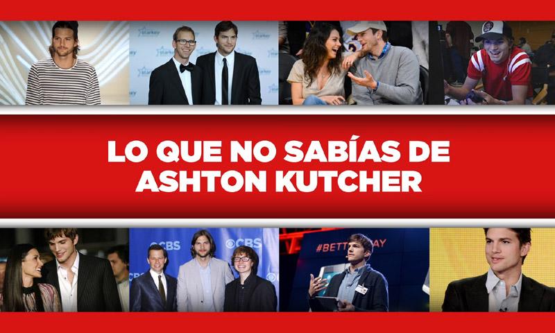 ¡Felicidades Ashton Kutcher! Todo lo que no sabías de uno de los actores más queridos de la televisión